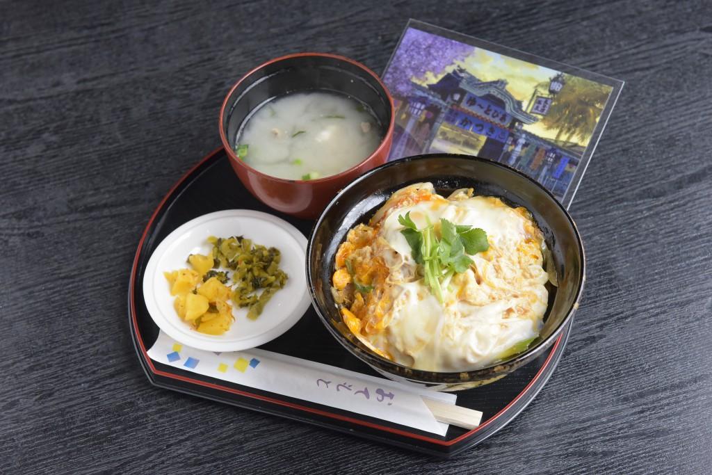 カツ丼+ポストカード
